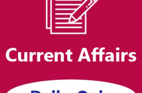 Daily Current Affairs Quiz: 06-01-2020