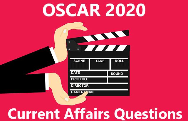 Oscar 2020 Most Impotant Question