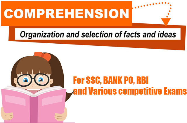 Comprehension Test Series