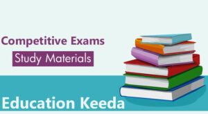 Study Material for competitive exams