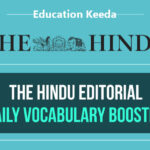 The Hindu English Vocabulary