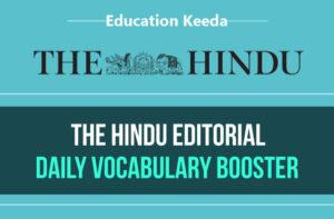 The Hindu English Vocabulary